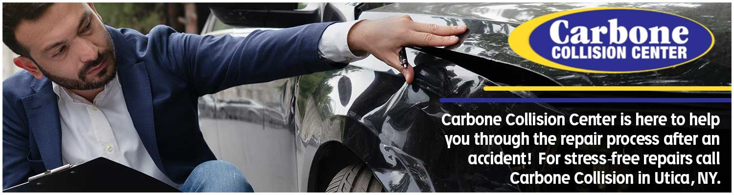 If your car has been in an accident or damaged, schedule an appointment with Carbone Collision.